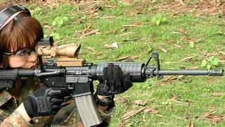 M4 CARBIN撃ってみた(5.56mm×45 NATO)