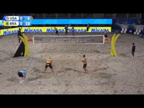Dalhausser Lucena vs Bruno Alison (Quarterfinals) Fort Lauderdale Major 2017