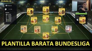 FIFA 15 | PLANTILLA BARATA BUNDESLIGA | Ultimate Team | DjMaRiiO