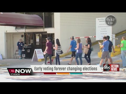 Florida Early Voting Already Tops 2012 Election