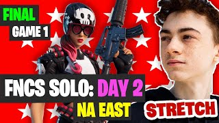 Fortnite FNCS Day 2 NAE Game 1 Highlights - Insane Stretch