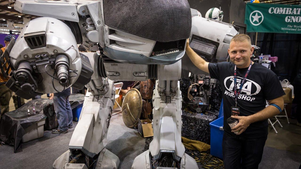 Making a RoboCop ED-209 Life-Size Replica!