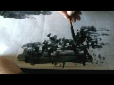 Ogawa Ryu Sumi-e Easy Landscape for Beginners