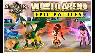 SUMMONERS WAR: Epic Battles of Special League!!!