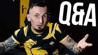 PIERWSZA SOLÓWKA, PRACA, FAME MMA 6... (Q&A)