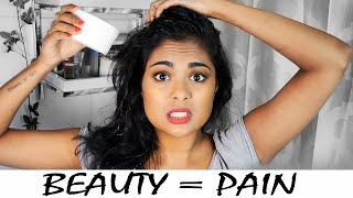 Things Girls Do For Beauty