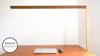 Modern  L Shaped LED Lamp - DIY