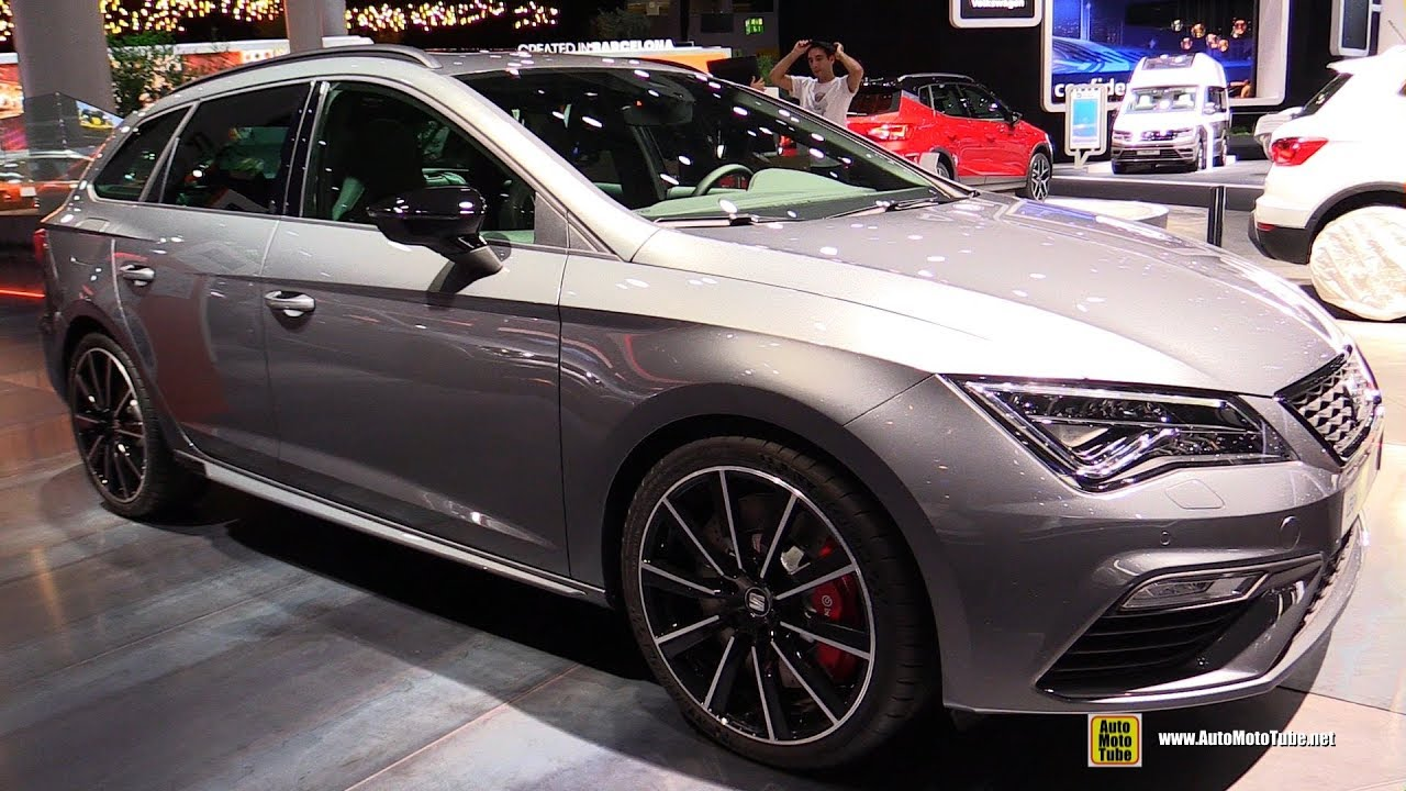 2018 seat leon st cupra exterior and interior walkaround. Black Bedroom Furniture Sets. Home Design Ideas