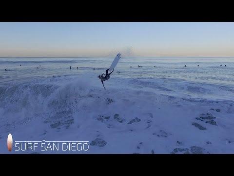Surf Local | San Diego | La Jolla | Surfing Blacks North Peak | 11.4.16