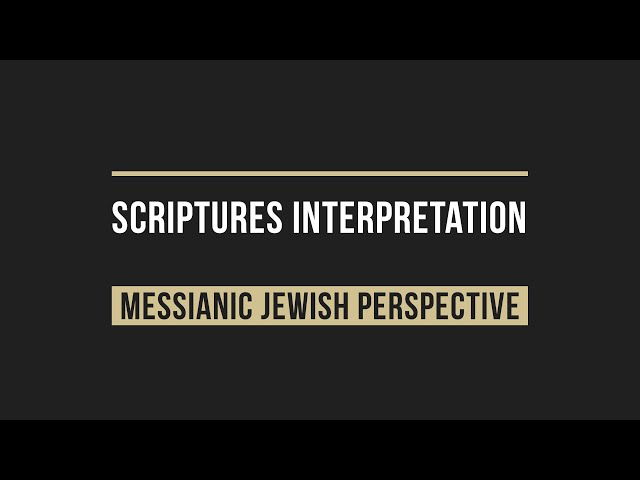Our 7 Principles for Interpreting The Scriptures (video version)