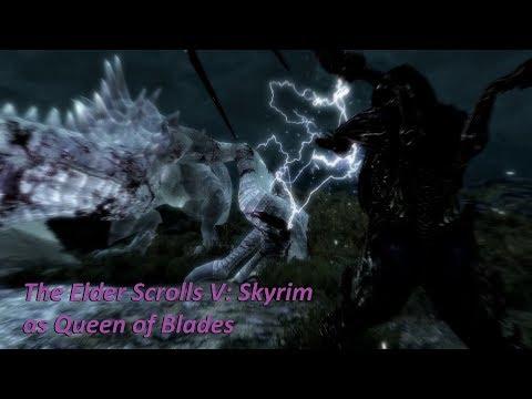 Elder Scrolls V Skyrim as Sarah Louise Kerrigan alias Queen of Blades (11/12)
