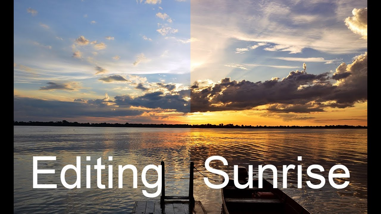 photoshop how to add sun without glare