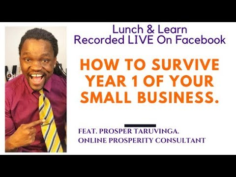 How to survive year 1 of your small business