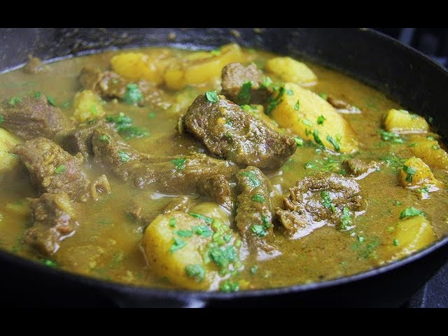 Incredible Curry Beef With Potato | CaribbeanPot.com
