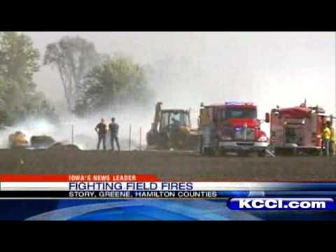 Strong Winds Fuel Field Fires