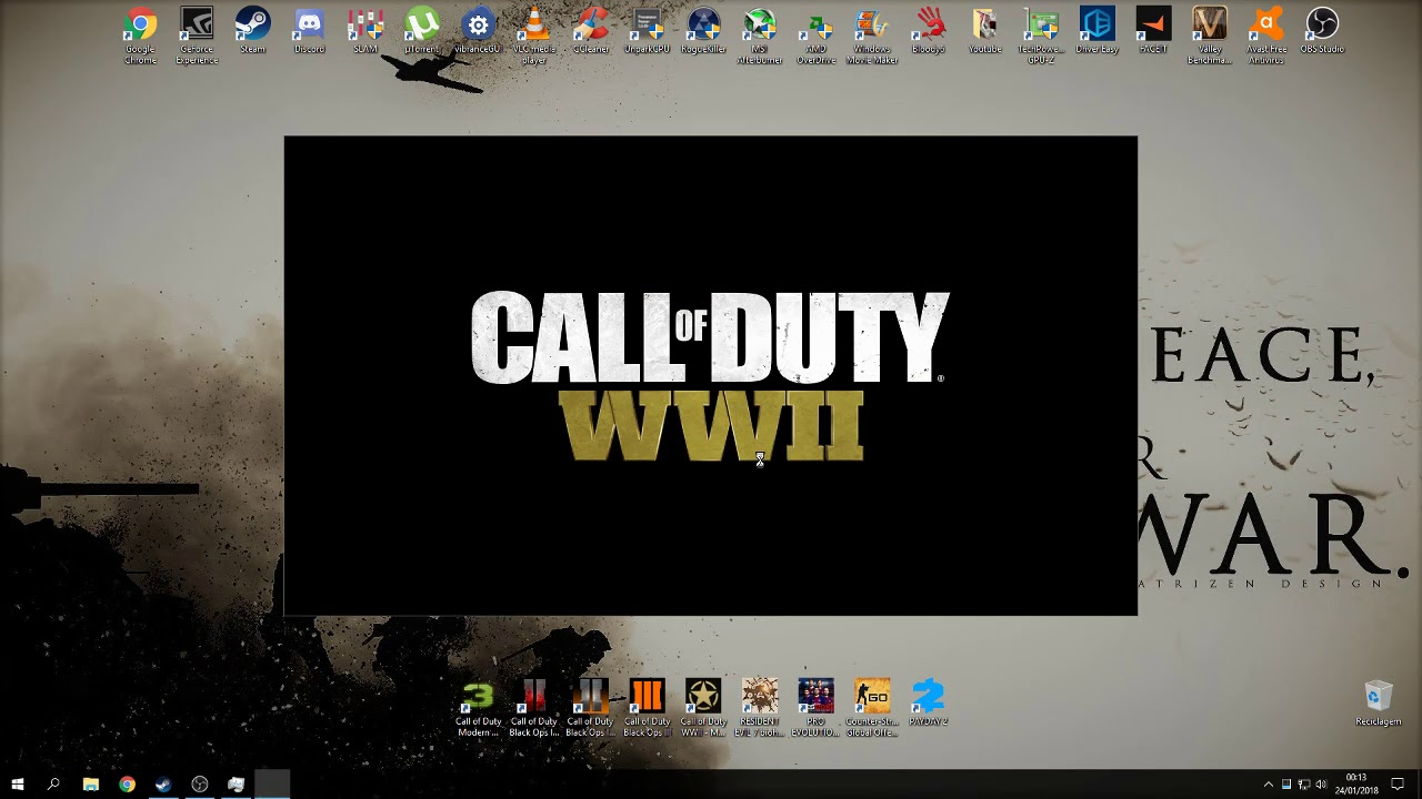 COD WW2 PC NEW UPDATE GAME WON'T LAUNCH FIX !!!