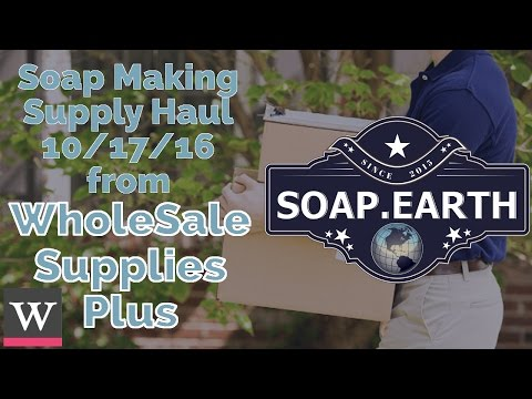 Wholesale Supplies Plus Soaping Haul