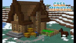 minecraft medieval casa construindo uma