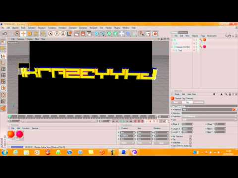 Cinema 4D – How To Make A Background