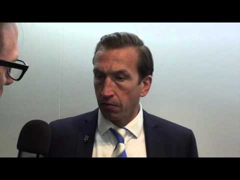 Justin Edinburgh post-Sheffield United