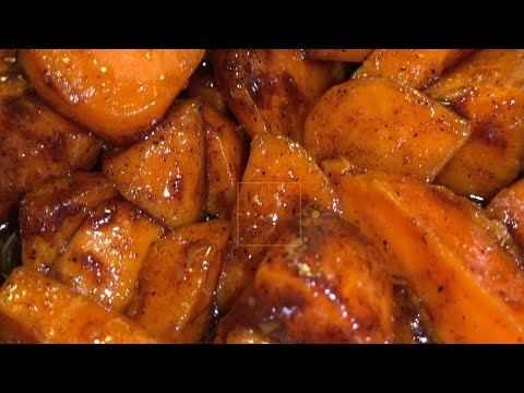 THE BEST CANDIED YAMS EVER MADE !! | Homemade Sweet Potatoes