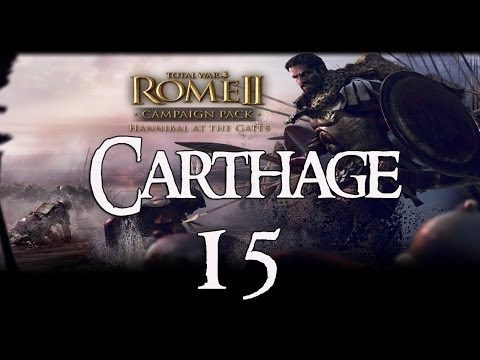 Rome 2: Hannibal at the Gates (Carthage - VH) #15 - Roman Sinkers