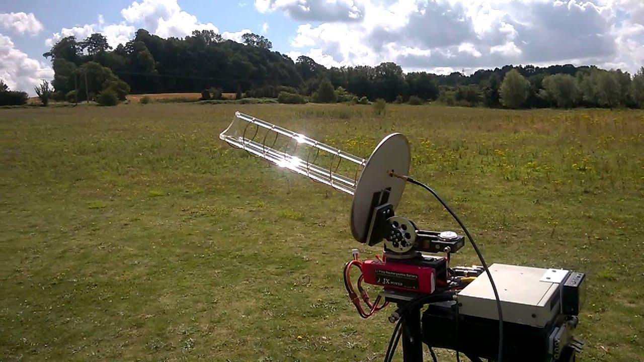 Long Range Fpv Jet Turbine Wing Tracking Ground Station