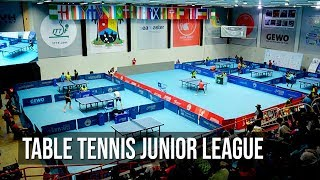 Table Tennis Junior League Concludes In Lagos