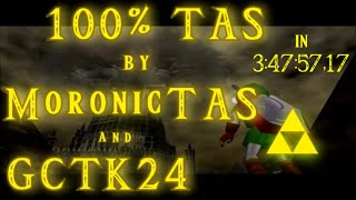 Zelda: Ocarina Of Time 100% [TAS] in 3:47:57.17 By MoronicTAS & GCTK24