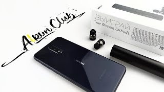 Распаковка беспроводной стерео гарнитуры Nokia True Wireless Earbuds BH-705 (часть 1).