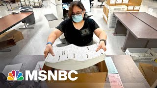 Arizona Audit Procedure Is 'Reckless': Maricopa County Sheriff | MSNBC