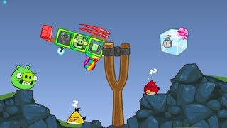 Bad Piggies - ZOMBIE PIG TAKE THE CRATE AFTER FOOLING ANGRY BIRDS!