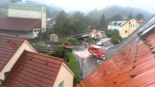 Австрия Как мгновенно работают пожарники