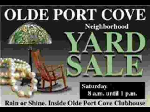 OPC Yard Sale, March 26th, 2011