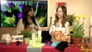 Actress Candy Washington interviews beauty and fashion expert Lilliana Vazquez