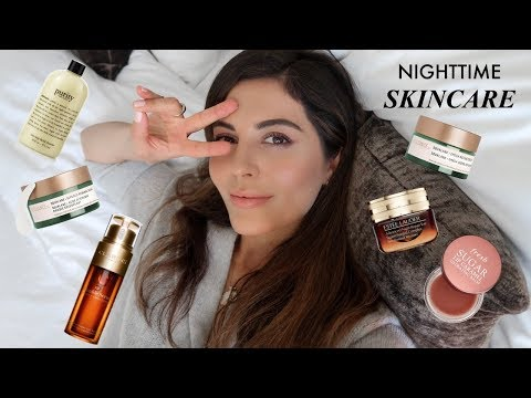 Updated Nighttime Skincare Routine 2018 thumbnail