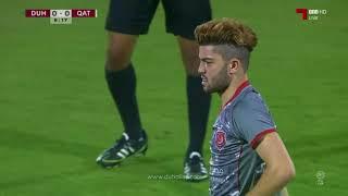 المباراة كاملة  | الدحيل 2 - 5 نادي قطر | الجولة الأولى
