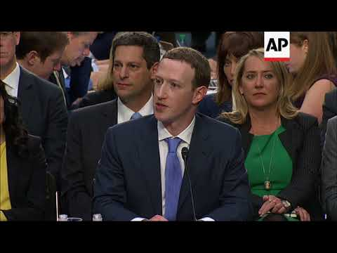 """Facebook CEO says company is in an """"arms race"""" with Russia"""