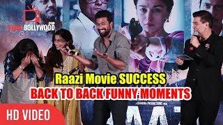 Raazi Movie Success Party | All Funny Moments | Alia Bhatt, Karan Johar, Vicky Kaushal