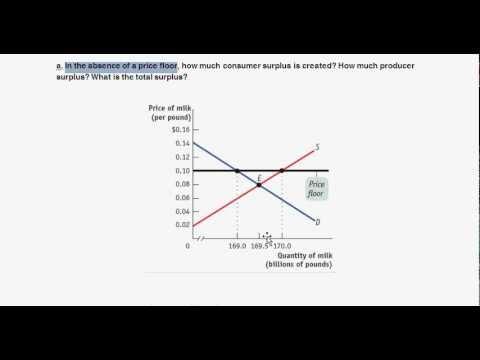 Price Floor Example   USDA U0026 Milk   Intro To Microeconomics