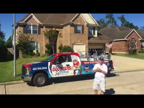 See why you need The Good Guys of Texas using Soft Wash Systems!