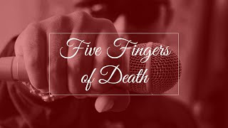 FIVE FINGERS OF DEATH BEAT (Prod. By Syndrome)