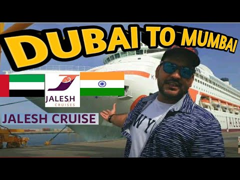My First Cruise Experience On | Jalesh Karnika | India's First Premium Cruise Dubai To Mumbai