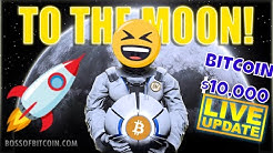 BITCOIN 10K!! 🎯BTC USD PRICE TARGET ANALYSIS TA 🎯Crypto Trading Live Stream & Cryptocurrency News