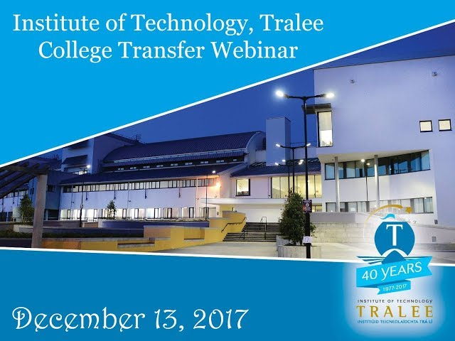 IT Tralee College Transfer Program brought to you by KOM Consultants - December 13, 2017