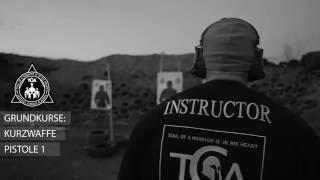 tca schietraining grundkurse pistole level 1