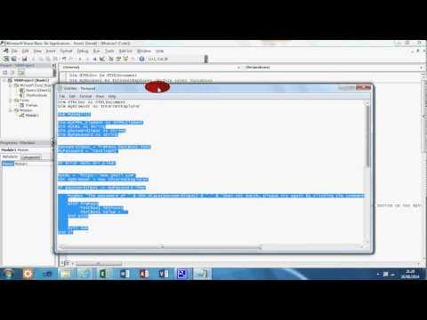 VBA Tutorial 11 - Login to Gmail