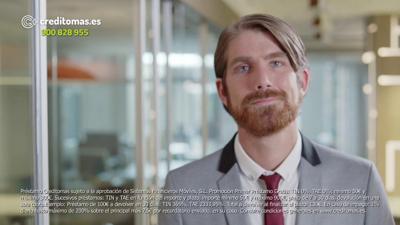 Creditomas.es anuncio