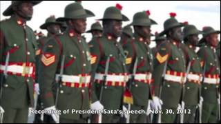 President Sata of Zambia Commands his Army to go and Shoot Barotzis In Lukulu Barotseland
