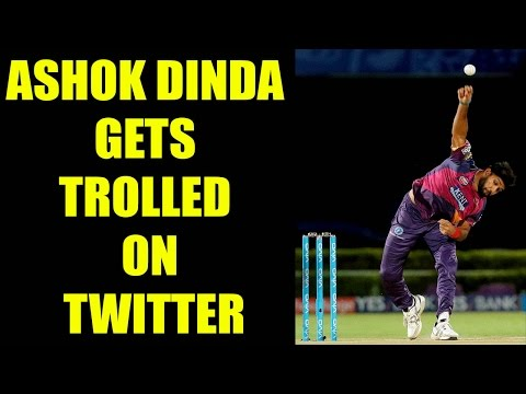IPL 10 : Ashok Dinda claims unwanted record, gets trolled on Twitter   Oneindia News